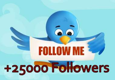 give you 1000 amazing celebrity twitter followers in 12 hours