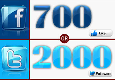 get you 2000 TWITTER followers or 700 facebook likes in less then 48 hours no need for pass