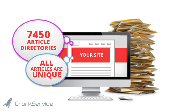 spin and submit your article to 6250 Directories, Get 500+ Google Backlinks + Ping all sites