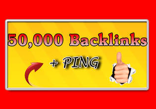 build 50,000 Blog Comment Backlinks And Ping All Links
