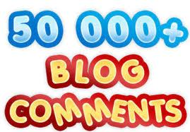 make 50,000 blog comment SEO backlinks just