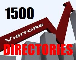 submit Your Website to 1500 Directories plus 100+ Search Engines as Bonus 