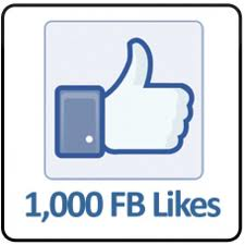 Provide You 1000 Real likes Without Any harm Of fanpage Just