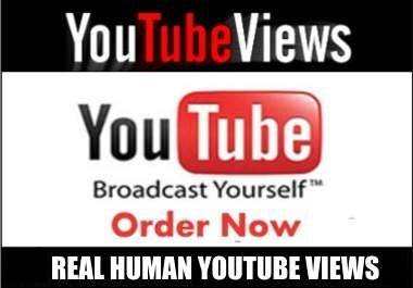 send 2000 REAL human visits to your YouTube video