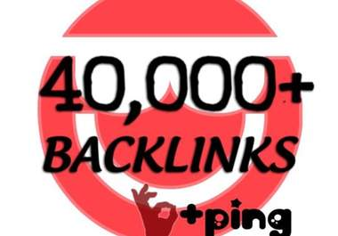 make at least  40,000 blog comment backlinks