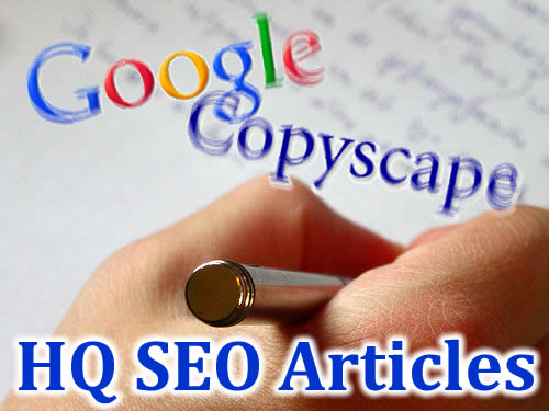 provide you 3 Unique and CopyScape Pass Guarantee SEO articles for any Niche/Keyword in 999 days