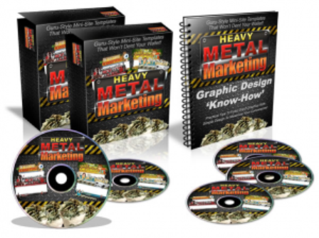 provide you the video course Heavy Metal Marketing