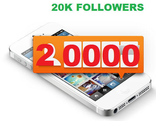 Provide 15000 Instagram Followers OR  15000 Likes in 4 hours