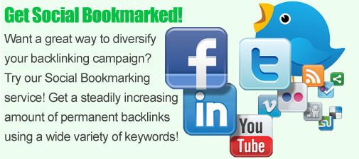 create 150 HIGH quality social bookmarks to your site all pr 2 or above