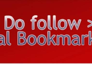 submit your site to 100 Dofollow Social Bookmarking Sites, All Sites Are 100 Percent DOFOLLOW, Fast Indexable, All Sites from Unique IPs