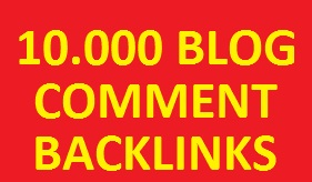 give you 10.000 blog comment backlinks