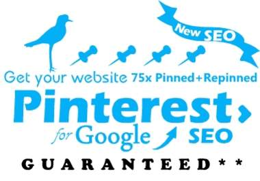 pinterest your site to blast SEO google from many accounts and promote to 20000 twitter followers