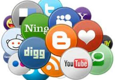 do 50 social bookmarking submission
