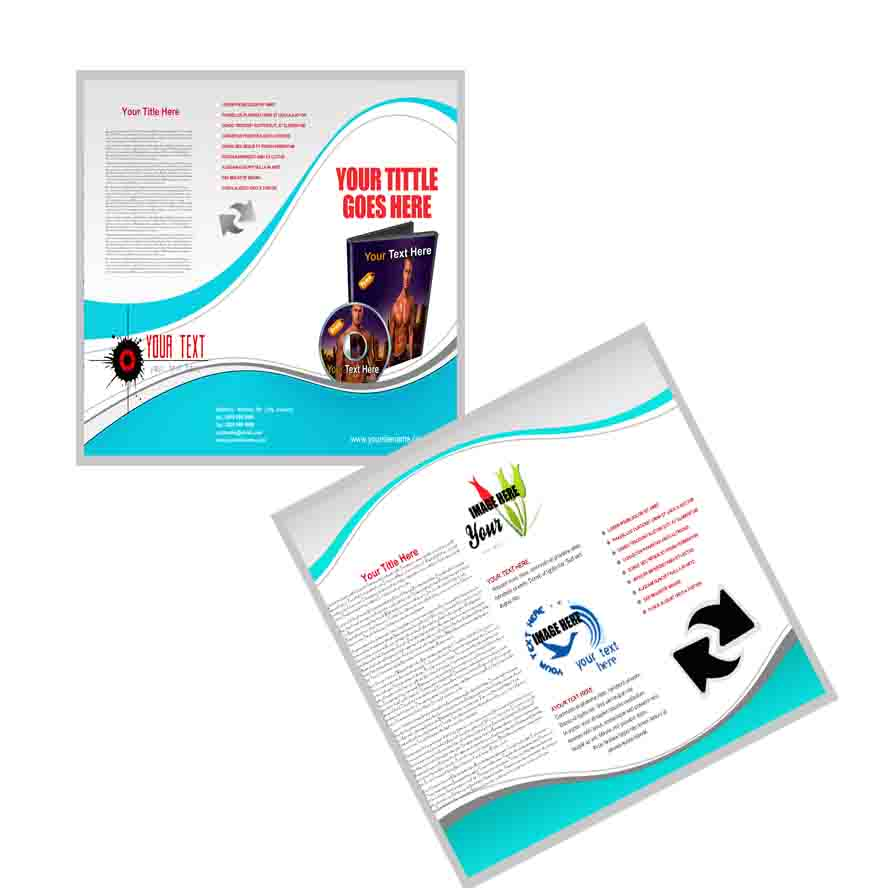 design a interactive and killer BROCHURE
