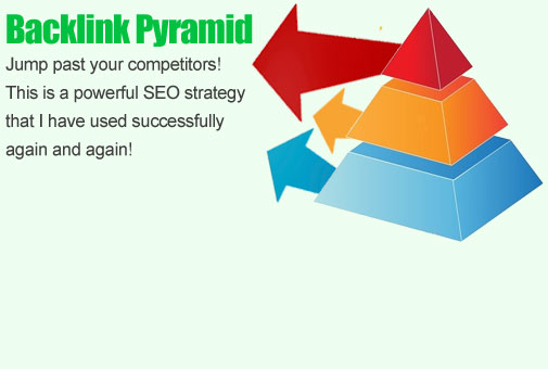 build a powerful link push pyramid