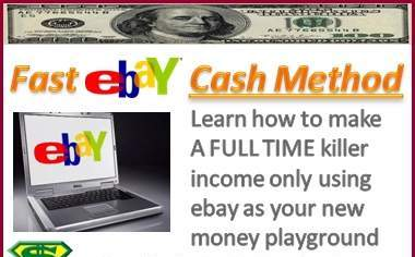 show you how to make an extra 5,000 dollars MONTHLY thanks to ebay without selling anything there