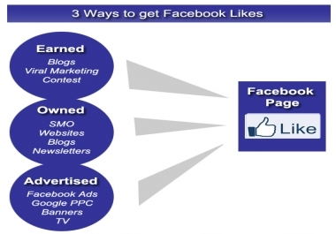 Get You 50 Mannual Facebook Likes [No Bots]
