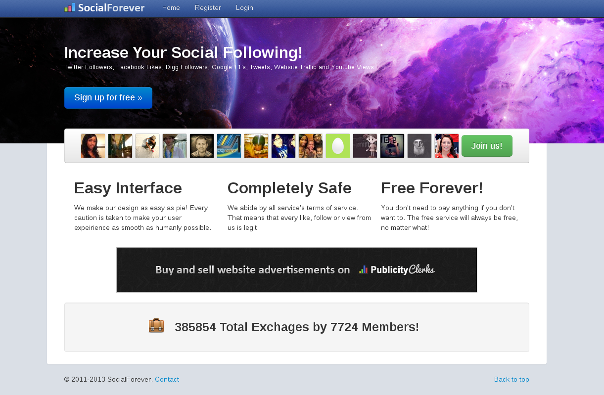 give you a 20,000 socialforever.net coupon for