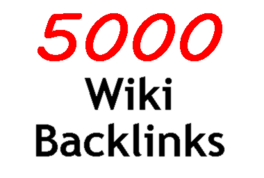 create 5000 Powerful SEO Wiki Contextual Backlinks from Wiki Sites