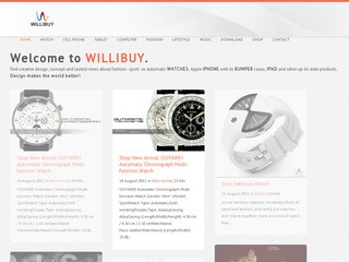 Watches or fashion products sponsored review