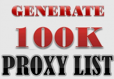 Generate A Daily List Of Over 100k Fresh Proxies For You + Bonus (Maggic Traffic Bot)