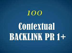 Make 100 PR 1+ Contextual Backlinks and 10000 Blog Comments