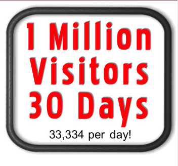 provide Website Traffic Service and send 1 Million Visitors to your site