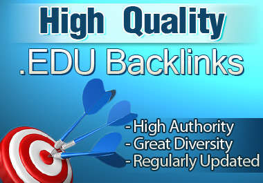 create 40 quality edu and gov backlinks for your web site and ping them for FREE