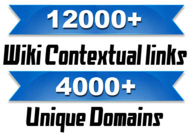 make 12000 wiki backlinks from 4000 domains wikis backlink