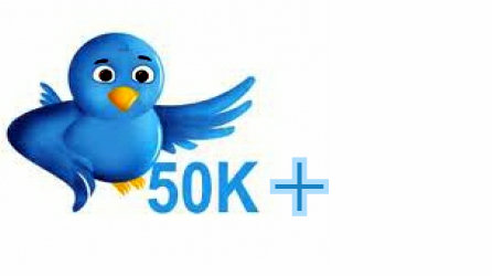 increase 50,000 real twitter followers to your account just within 12 hours without pass