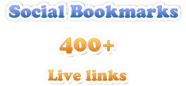 Submit Your Site To 500+ VERIFIED Social Bookmark Sites + Ping