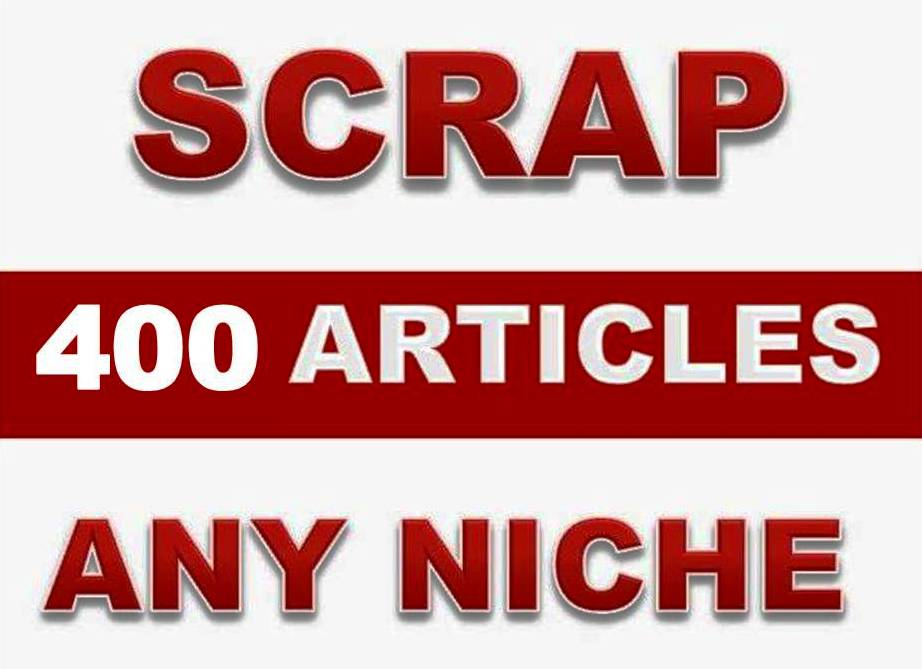 Explode your website content with 300 Articles (+400 word) in any niche or keywords + Free Spinner Tool