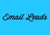 I will Give you Fresh 1,119 Indian Email Addresses Leads [Instant Download]. Clean Email List