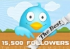 add 8000+ plus AAA Twitter Followers To Your TwitTer Profile Follow In 20 Hrs