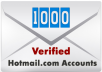 sell you ★1000 verified hotmail accounts★