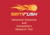 Send a Full SEMRUSH Premium Report For 5 Domains or Keywords