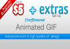 I will create to you a proffessional Gif animation