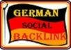 do 41 quality submissions to german social bookmarking sites like folkd, onview, Iinksilo, favoriten, its totally penguin safe backlinks