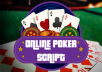 I will provide you an Online Poker Script
