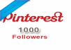 will give you the method to get 1000+ Pinterest Followers / Likes or Repins