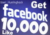 Give You 10,000 USA Base Fake Facebook likes, Fans to Your Fanpage