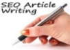 write a 350 to 500 word SEO article that is keyword friendly