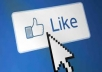 Give you 1000+ real and safe facebook like in your any facebook page or post just