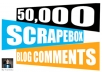 create 50000 Blog Comment Backlinks With Scrapebox Blast