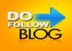 1 Custom Written Blog Post with Do-Follow Backlink on a PR4 Authority Blog