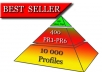 create SEO High PR Pyramid 400+ PR1 to PR6 Or Even Higher Profile Backlinks With Unlimited URLs and Keywords and 10 000 + On 2nd Layer