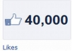 give 40000+[40K] High Quality Real, Active Facebook Likes to your facebook fan Page