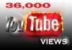 give you 36,000+ REAL Youtube views + 50 likes + 50 subscribers guaranteed