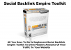 I will Give You Social Backlink Empire Suite PRO