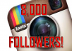 Give You 8,000 Instagram Followers (8K Followers!)